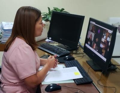 A secretária Adriana Aguiar destaca que a formação visa alinhar as atividades da retomada com segurança para todos