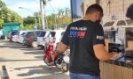 A ação foi realizada em seis estacionamentos de Palmas