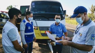 Operação Viagem Segura no perímetro urbano de Augustinópolis