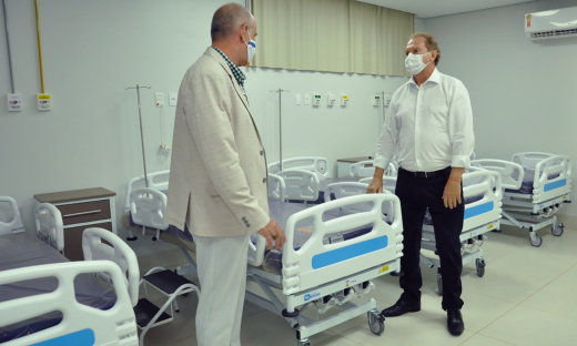 No total, o Estado conta com 395 leitos destinados exclusivamente para pacientes acometidos pela Covid-19
