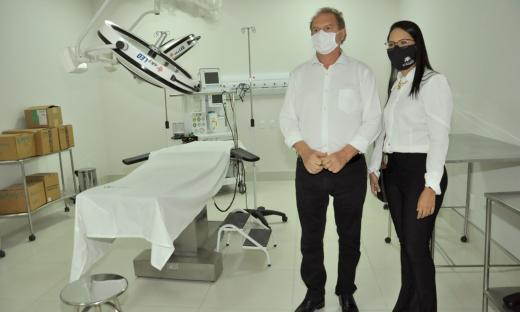 Novos leitos estão instalados no Hospital Oncológico de Palmas e estarão disponíveis para toda a população tocantinense