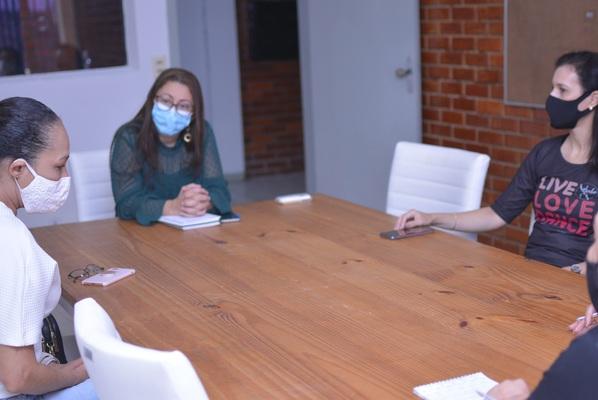 Reunião com representantes das artes cênicas ocorreu nesta segunda