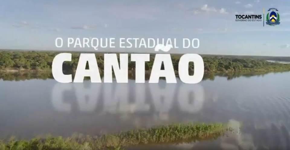 Vídeo sobre o Parque Estadual do Cantão - Português