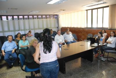Reunião da Diretoria Provisória
