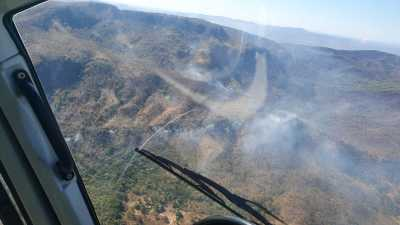 Objetivo é dar combate aos focos de incêndio na Serra Geral em Natividade