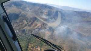Brigadistas são transportados pelo Ciopaer para os locais de focos de incêndios