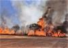 Bombeiros militares impediram que a totalidade da área fosse consumida pelo fogo na região norte de Palmas