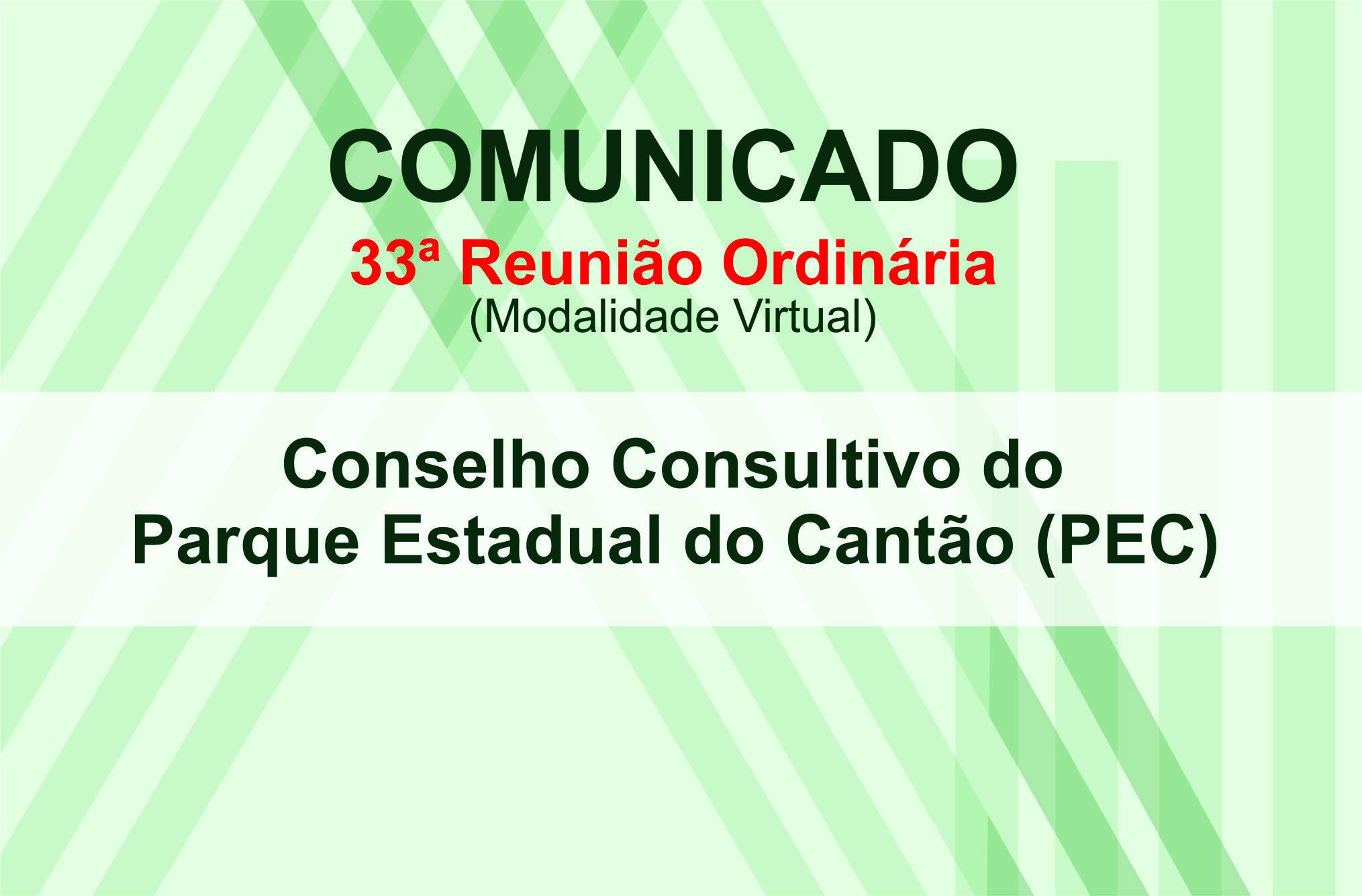 COMUNICADO - Conselho Consultivo Parque Estadual do Cantão - PEC_Divulgação-Naturatins.jpg