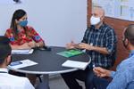 Chefe do escritório da Codevasf fala das ações da Companhia para o Tocantins em reunião na Sics
