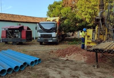 Novo poço instalado no perímetro urbano do município atenderá a demanda de cerca de 900 famílias