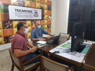 Membros do Coema reúnem se teleconferência