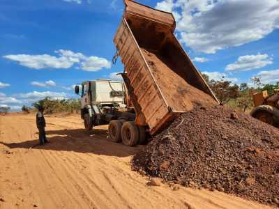 Na rodovia TO-348 foram recuperados 70 km do trecho entre Abreulândia e a rodovia TO-342