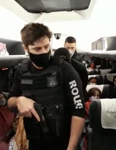 Homem preso pela equipe da DRR  estava em ônibus que vinha do Maranhão