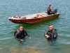 Mergulhadores do CBM realizam as buscas nas duas regiões do estado