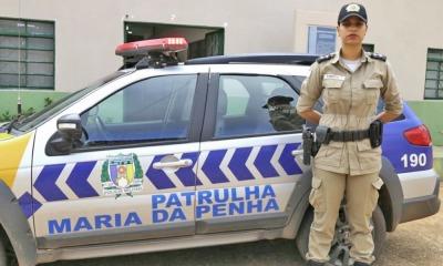 Patrulha Maria da Penha atende uma média de 60 mulheres em situação de violência.