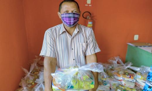 Mais de 7 mil famílias serão beneficiadas em mais uma etapa de entrega de cestas básicas pelo Governo do Tocantins