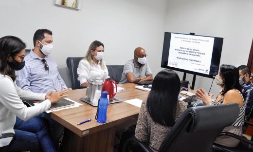 Representantes da Secad e Secretaria da Saúde discutem propostas para implantação do Projeto de saúde mental do servidor