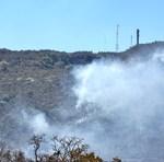 Fumaça na Serra do Carmo provocada pelas queimadas atingem população em toda a Capital