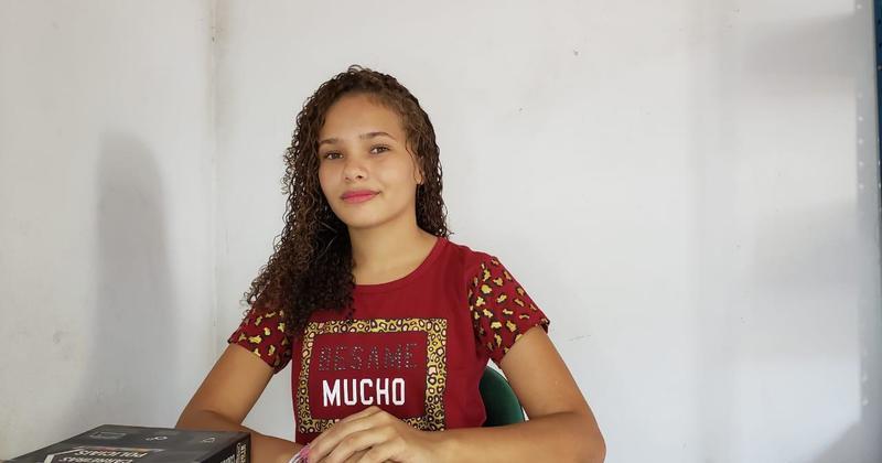A estudante Yasmim Valadares Soares foi a selecionada para representar o Tocantins no PJB 2020