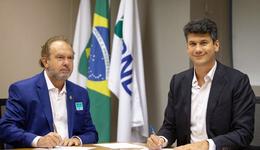 Governador Mauro Carlesse destacou a importância de desenvolver projetos junto à iniciativa privada em benefício do cidadão tocantinense