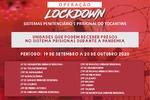 """A """"Operação Lockdown"""" integra uma série de medidas  de segurança da saúde adotadas pela Seciju desde o anúncio da pandemia"""