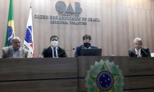 O secretário-chefe da Casa Civil, Rolf Vidal destacou o compromisso do Governador com a regularização fundiária e o diálogo com as instituições