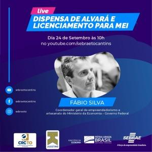 Live Dispensa de Alvará e Licenciamento para MEI desta quinta-feira