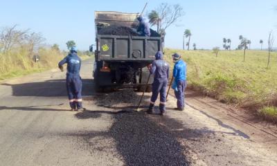 Cinco frentes de serviço atuam na regional de Guaraí