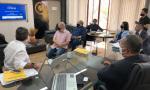 Secretário Tom Lyra e equipe técnica conhecem estrutura e história da empresa