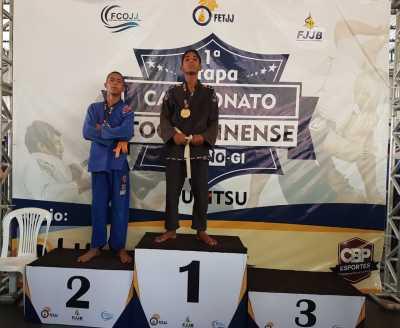 Eduardo foi campeão tocantinense de jiu-jitsu.