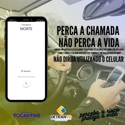 Semana Nacional do Trânsito – Os perigos do uso do celular no trânsito