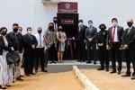 A inauguração que aconteceu nesta quinta-feira, 24, seguiu todos os protocolos de segurança para contenção da Covid-19
