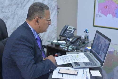 Secretário Tom Lyra acompanha reunião do CDE