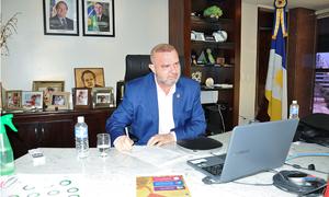 Governador Mauro Carlesse participou da primeira reunião do Conselho de Política Cultural deste ano