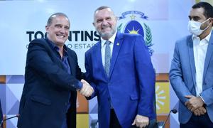 Convênio assinado entre o governador Mauro Carlesse e o ministro da Cidadania, Onyx Lorenzoni, beneficiará quase 4 mil agricultores familiares de 112 municípios tocantinenses