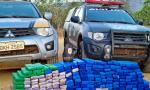 Cerca de 240 tabletes de maconha foram apreendidos durante ação da PM na Rodovia TO-010