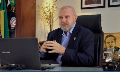 Governador Mauro Carlesse destacou que o Estado tem cumprido seu papel em servir a comunidade, honrar compromissos e atrair novos investimentos, mesmo enfrentando a pandemia