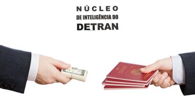 Núcleo de Inteligência do Detran identifica utilização de documentação falsa