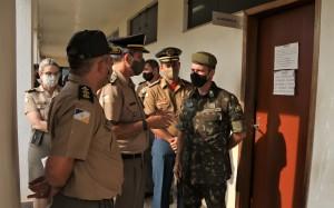 Estrutura das corporações foram apresentadas durante a Inspeção Geral de Polícia Militar