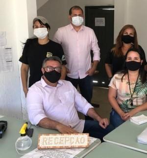 Nesta quarta-feira, 7, o presidente do Naturatins, esteve reunido com servidores da Regional de Araguaína
