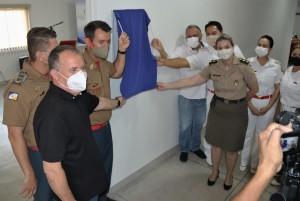 Diretores da Fundação Pró-Tocantins participaram da inauguração da Clínica