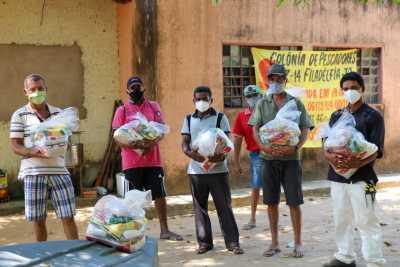 Mais de 3 mil Famílias estão sendo atendidas pelo Governo do Tocantins na região do município de Filadélfia com apoio da Associação Colônia de Pescadores Z-14