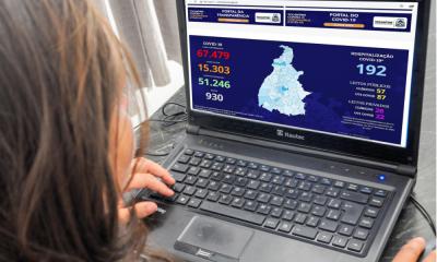 Portal reúne dados de saúde, legislação, gastos públicos e demais informações sobre às ações de controle da pandemia.