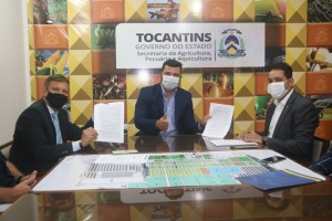 Documento assinado permite que o Ruraltins atue como agente de crédito rural junto ao banco