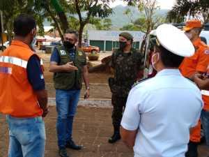 Fiscalização ocorrida no distrito de Taquaruçu