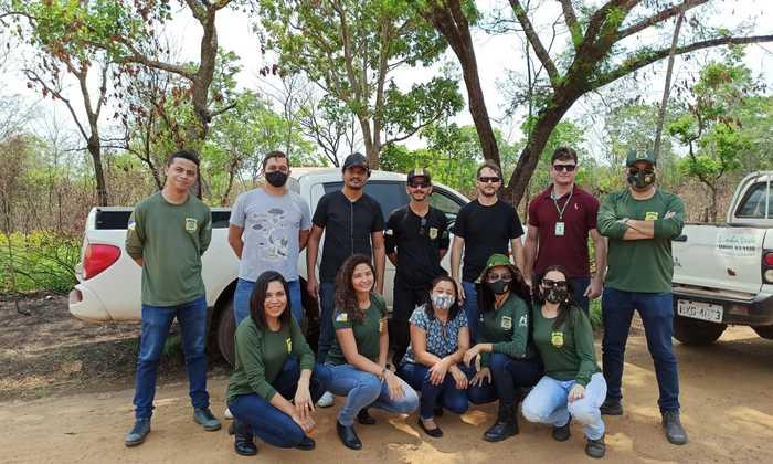 A capacitação foi realizada nos últimos dias 8 e 9,  no polo de Araguaína