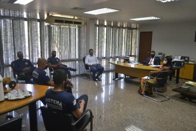 Ainda nesta terça-feira, também foram pautadas demandas relacionadas às unidades socioeducativas do Tocantins