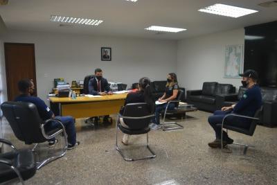 Juntamente com a Assoeto, o secretário Heber Fidelis tratou sobre interesses e demandas da categoria