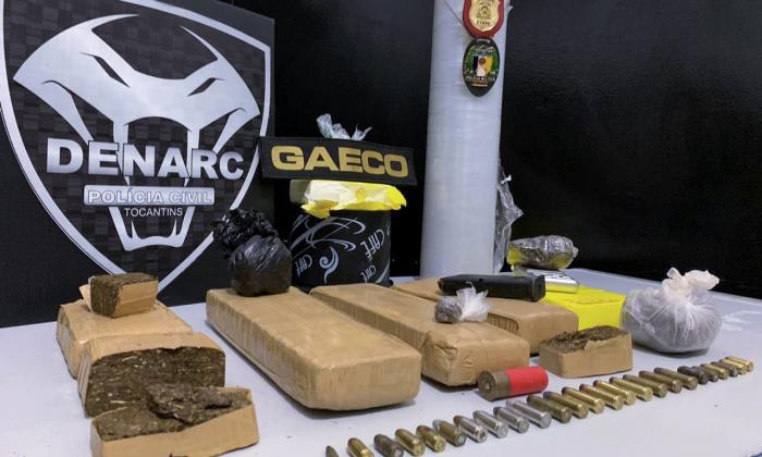 Em Palmas, duas mulheres são presas e um menor é apreendido por ato infracional análogo ao tráfico de drogas