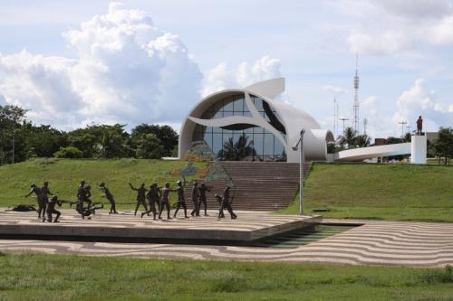 Complexo do Memorial Coluna Prestes inclui o Monumento aos Dezoito do Forte